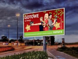 Billboard Drogerie Natura
