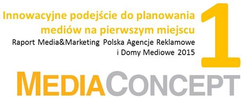 Innowacyjne podejście doplanowania mediów napierwszym miejscu Raport Media&Marketing Polska Agencje Reklamowe iDomy Mediowe 2015